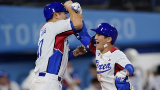 Dienvidkorejas beisbolisti papildus iningā nodrošina uzvaru pār Izraēlu