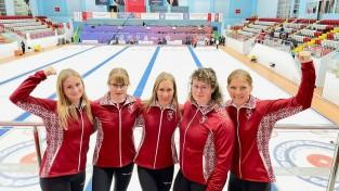 Latvijas sieviešu kērlinga izlase nodrošina vietu olimpisko spēļu kvalifikācijā
