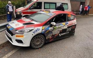 Foto: Seskam smaga avārija Moncas WRC rallijā