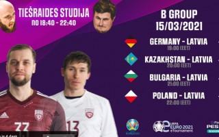 Tiešraide: UEFA eEURO2021 kvalifikācija, Latvijas komandas spēles