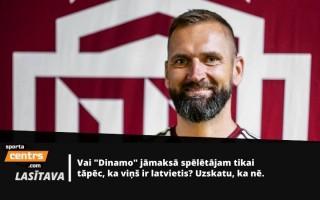 Buncis par neuzrunātajiem izlases spēlētājiem un Zubova latvisko aizsardzību