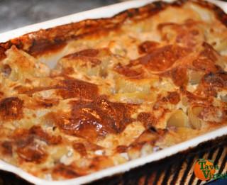 Pildīti lumaconi (makaroni) jeb cepeškrāsnī gatavota pasta