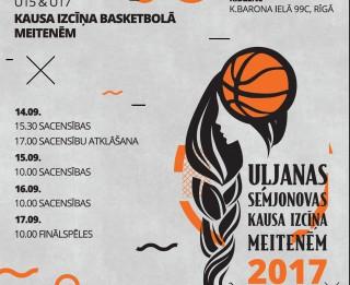 Rīgā risināsies Uļjanas Semjonovas kausa izcīņas sacensības basketbolā