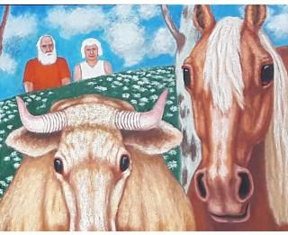 """""""Dauderos"""" būs skatāma Filipa Šalajeva gleznu izstāde """"Latvijas laukos"""""""