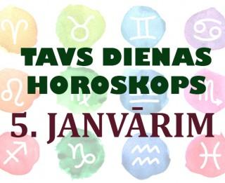 Tavs dienas horoskops 5. janvārim