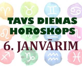 Tavs dienas horoskops 6. janvārim