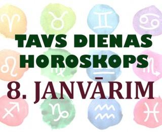 Tavs dienas horoskops 8. janvārim