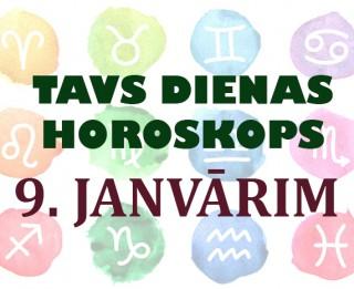 Tavs dienas horoskops 9. janvārim
