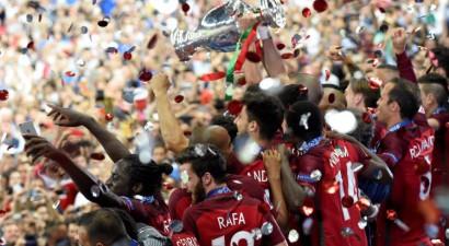 Portugāle paliek bez Ronaldu un drāmā kļūst par Eiropas čempioni