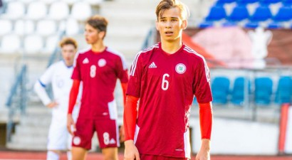 Latvijas U17 izlase vēlreiz piedzīvo zaudējumu 0:2 Federāciju kausā