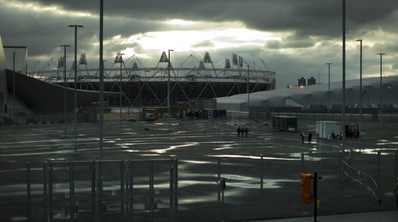 Londonas olimpiskais stadions  Foto: AP/Scanpix