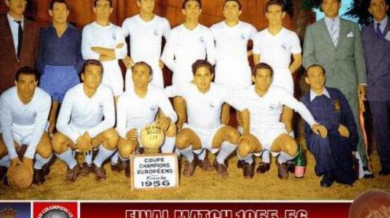 "Madrides ""Real"". 1956. gads"