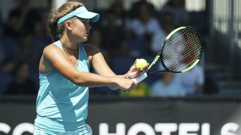 Kamilla Bartone. Foto: Luke Hemer/Tennis Australia