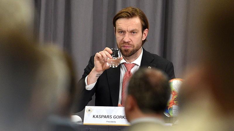 Kaspars Gorkšs. Foto: Romāns Kokšarovs/F64