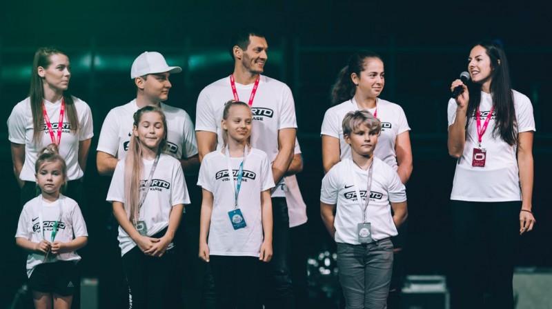 """""""Sporto visa klase"""" sestās sezonas atklāšana """"Arēnā Rīga"""". Foto: Latvijas Olimpiskā komiteja"""