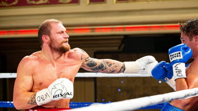 Ričards Bolotņiks. Foto: Boris Simson/LNK Boxing