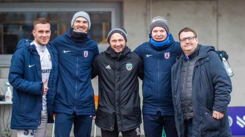Aldis Trukšāns, Valērijs Redjko, Jurijs Ksenzovs, Dāvis Caune un Ainārs Tamisārs / Foto: Ivars Veiliņš