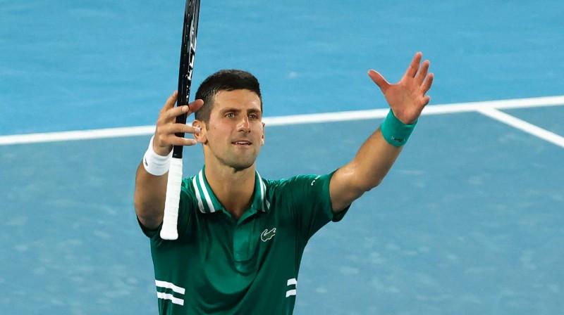 Novaks Džokovičs. Foto: AFP/Scanpix