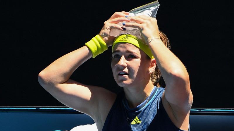 Karolīna Muhova. Foto: AFP/Scanpix