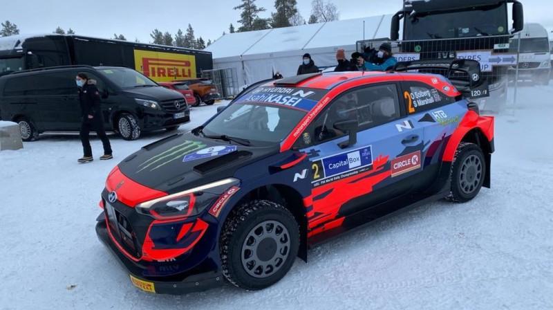 Olivera Solberga ''Hyundai i20 Coupe WRC'' automašīna