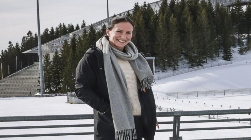 Marita Bjergena neskaitāmas reizes uzvarēja abos slēpošanas stilos.  Foto: Mattis Sandblad