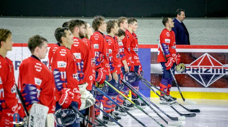 ''Prizma'' hokejisti. Foto: Optibet hokeja līga
