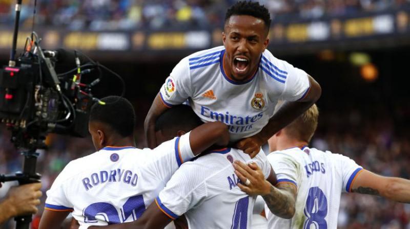 """Madrides """"Real"""" svin vārtu guvumu. Foto: AP/Scanpix"""