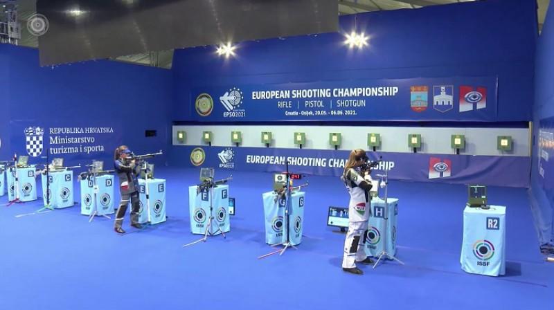 Šogad Eiropas čempionāts notika Horvātijā. Foto: esc-shooting.org