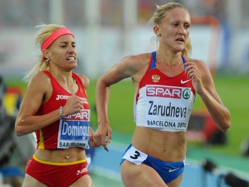 Kavēkļu skrējienā zelts Zarudņevai