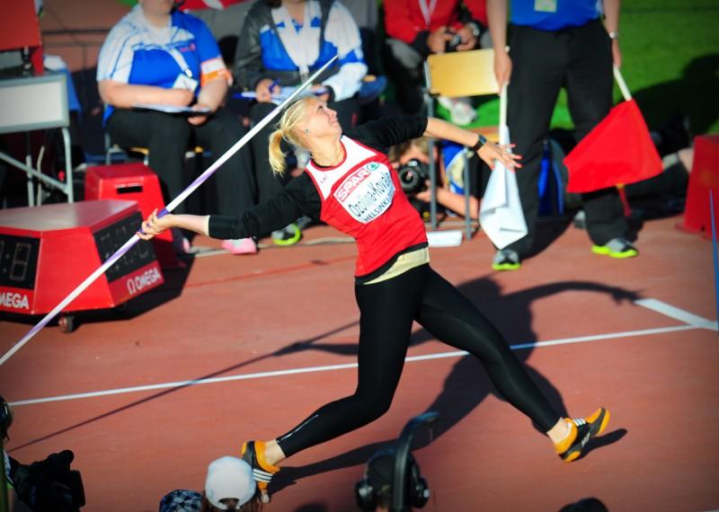 Obižajeva labo Latvijas rekordu kārtslēkšanā, Ozoliņai-Kovalai Londonas A normatīvs