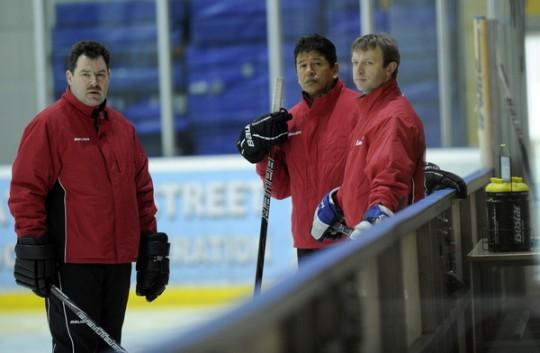 Novājinātā hokeja izlase uzsāk gatavošanos