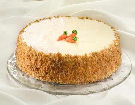 Ātrā burkānu torte