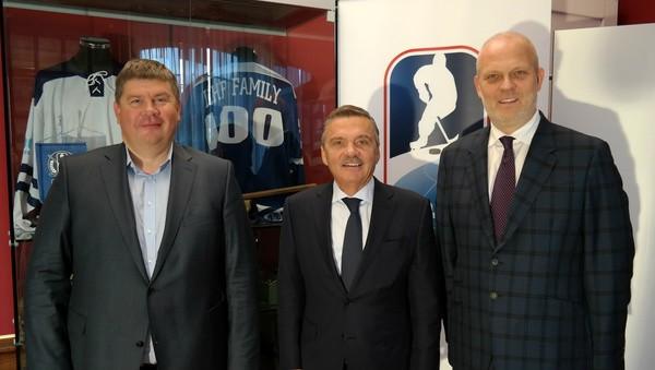"""Baltkrievijas Hokeja federācija: """"Turpinām plānot PČ 2021. gadā kopā ar Latviju"""""""