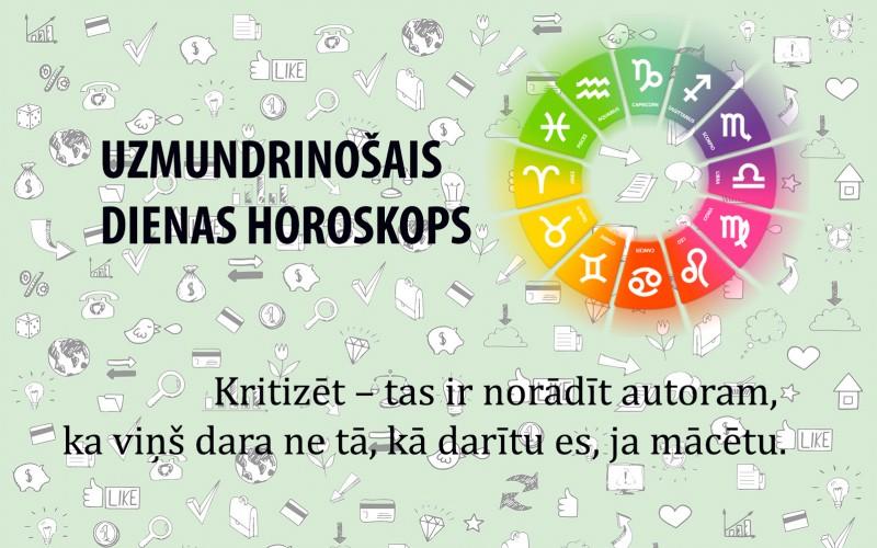 Uzmundrinošie horoskopi 28. janvārim