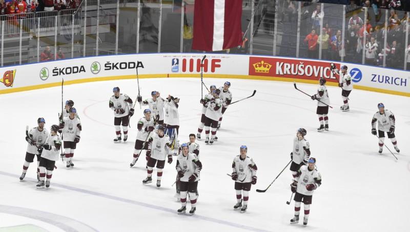 Hokeja izlasei olimpiskajā kvalifikācijā jāspēlē pret Franciju un Itāliju