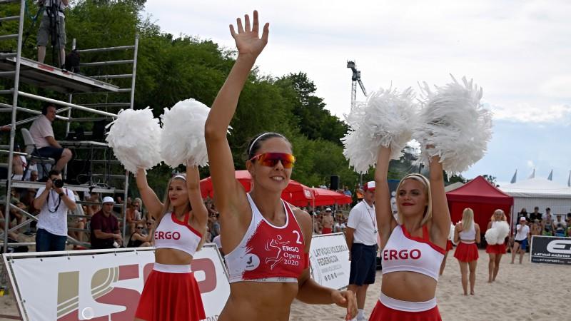 "Kravčenoka cer, ka ""Ergo Open"" Daugavpilī popularizēs pludmales volejbolu"