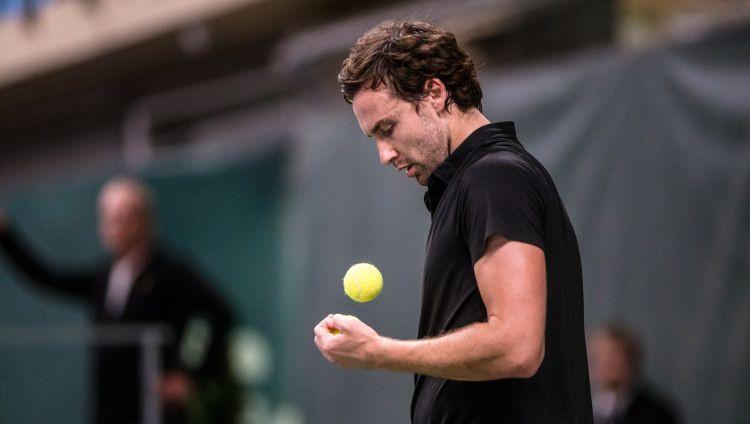 Gulbim Singapūras turnīrā ielozē tikai divas ATP uzvaras guvušo Markoru