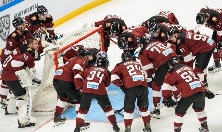 Rīgas ''Dinamo'' pārcelto spēli ar ''Barys'' aizvadīs 3. novembrī
