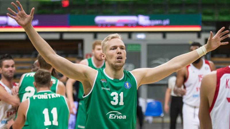 Jānim Bērziņam izcila precizitāte un 17+8 Zeļona Guras 21. uzvarā Polijas līgā