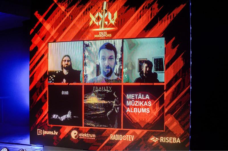 Zināmi Mūzikas ierakstu gada balvas Zelta Mikrofons 2021 nominanti