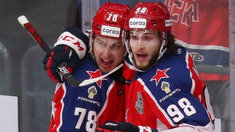 CSKA vēlreiz sausā apspēlē SKA un Rietumu finālsērijā panāk 2-0