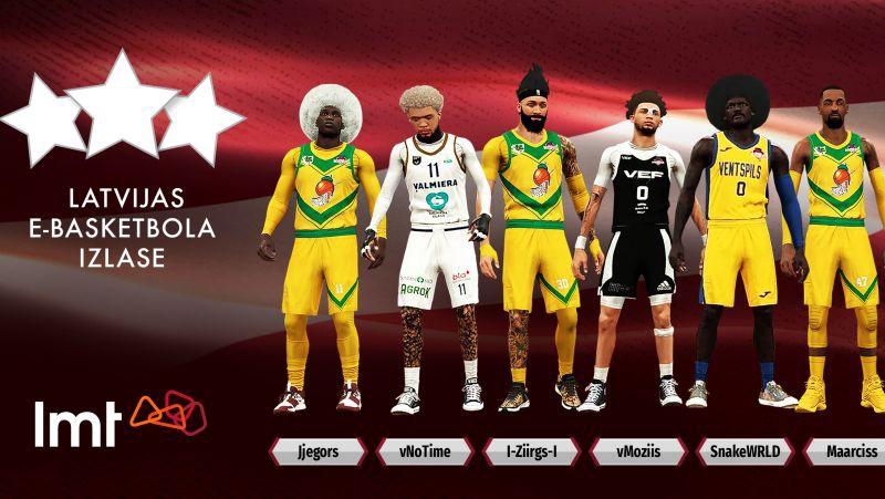 "Latvijas e-basketbola izlase piedalīsies ""FIBA Esports Open III"""
