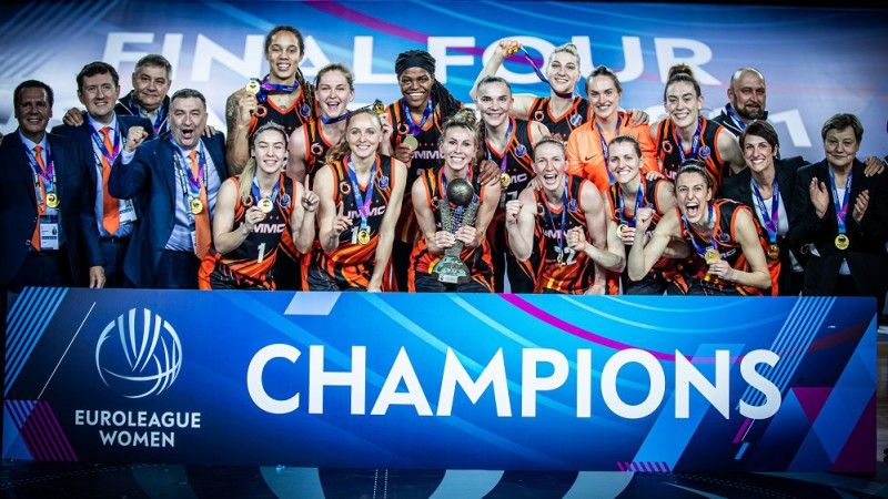 Dinastija! UGMK trešo reizi pēc kārtas triumfē Eirolīgā, Stjuarte kļūst par MVP