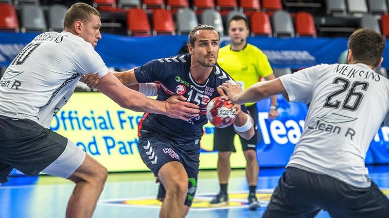 Latvijas handbola izlase piedzīvo pamatīgu sakāvi otrajā spēlē pret Norvēģiju