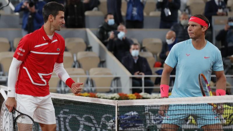 """Grandiozie """"French Open"""" pusfināli: Cicipass pret Zverevu un Džokoviča duelis ar Nadalu"""