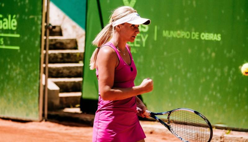 Marcinkeviča un Podžus ITF turnīros komfortabli uzvar Francijas spēlētājus