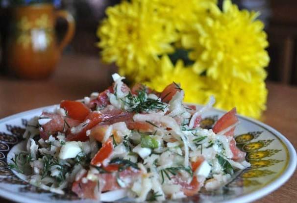 Veselīgie andalūziešu salāti
