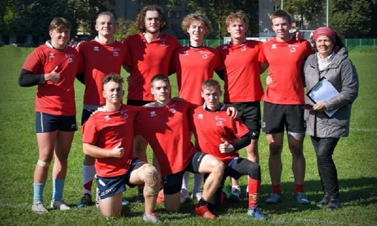 Latvijas čempionāta regbijā-7 U18 puišiem otrajā posmā uzvar ''ĶNSS/Baldone''